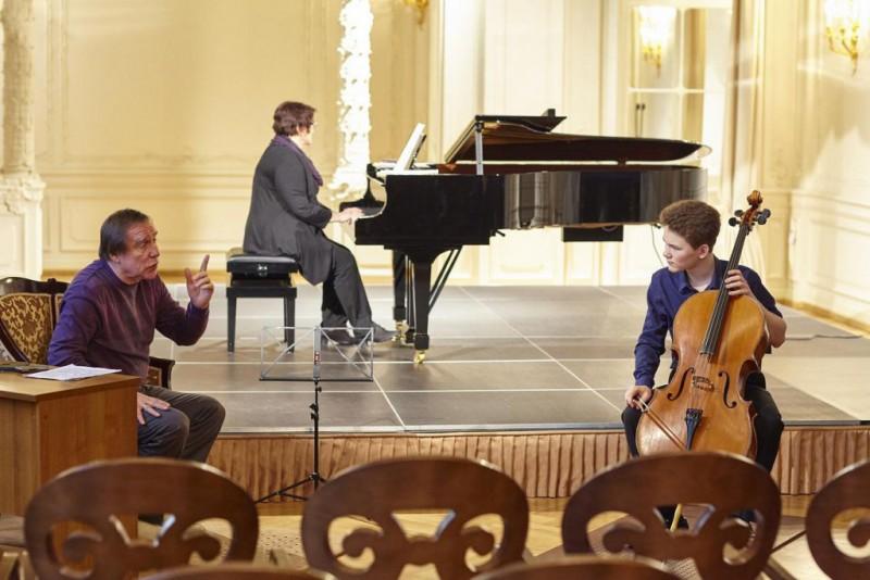Sergey roldugin saint petersburg music house for English house music